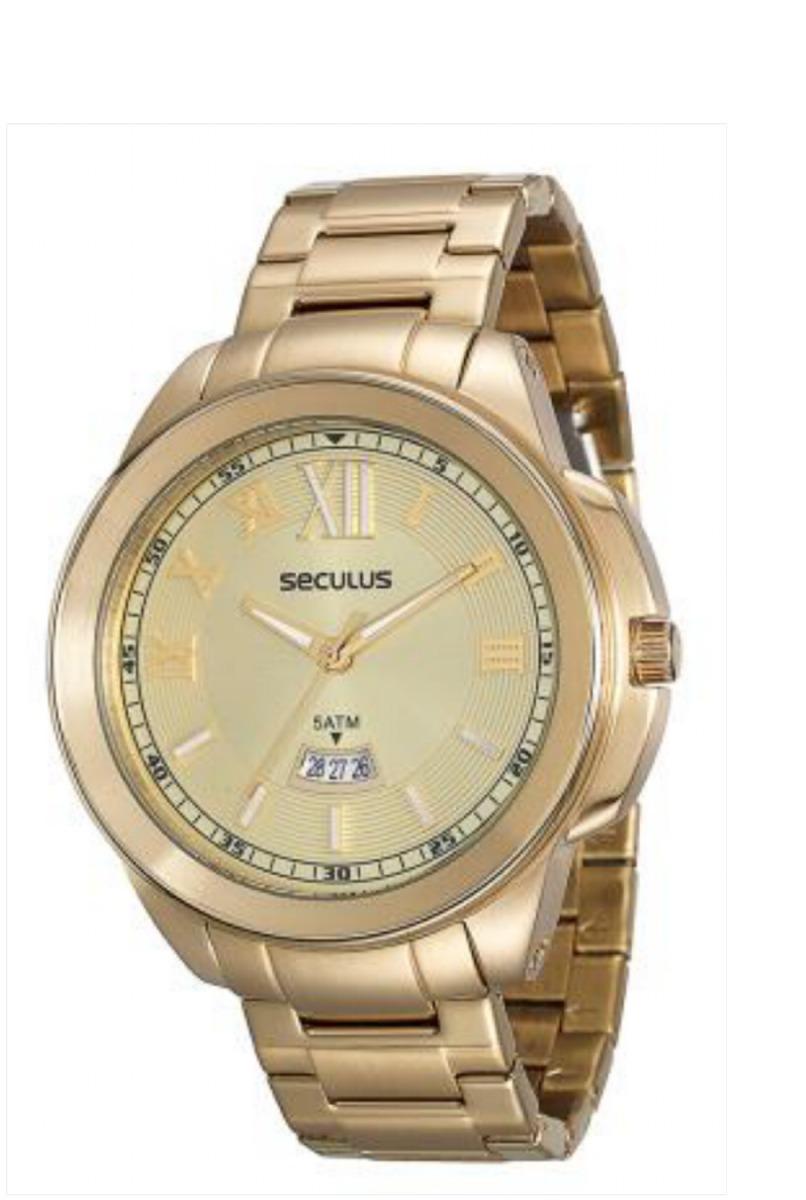 9947eb926f4 Relógio Masculino Analógico Seculus 20347gpsvda1 Loja Fisica - R ...