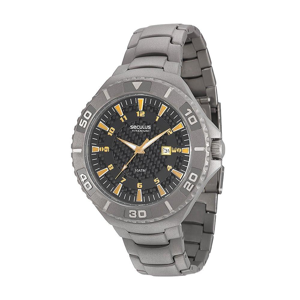 0fa7aaa6e relógio masculino seculus analógico calendário 20289g0svnt1. Carregando  zoom.