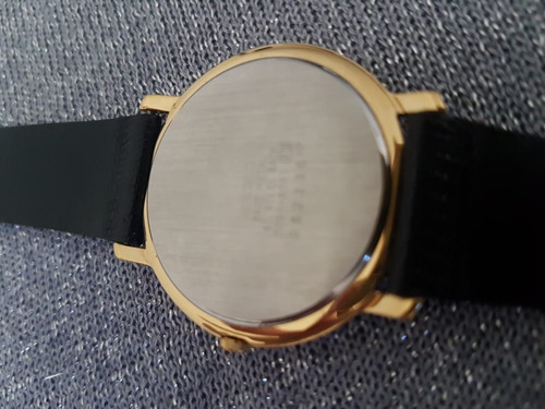 relógio masculino seiko quartz social couro