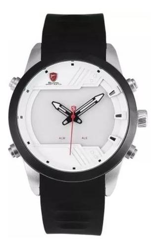 relógio masculino shark modelo ds0311 + frete grátis