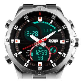 Relógio Masculino Skmei 1146 Digital Analógico Luxo Original