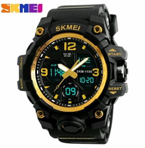 relógio masculino  skmei 1155 à prova d'água 50m