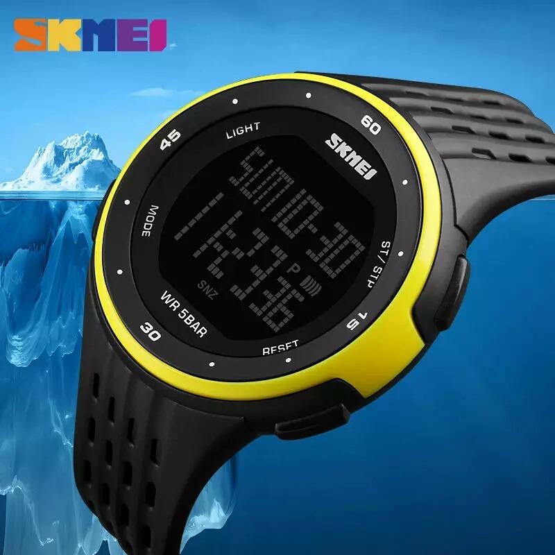 76e1eacd7c4 relógio masculino skmei 1219 digital esportivo. prova d´água. Carregando  zoom.