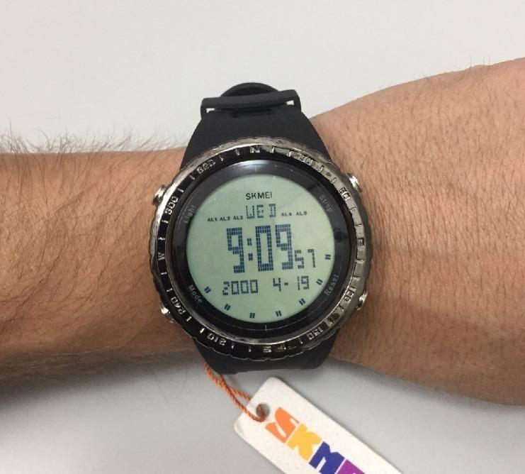 5b41808ec73 Carregando zoom... relógio masculino skmei 1246 digital esportivo prova  d´água