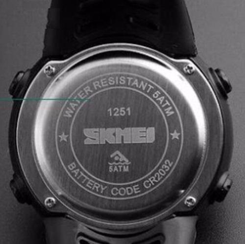 Relógio Masculino Skmei 1251 Digital Esportivo Prova D´água - R  99 ... 6467d3b055