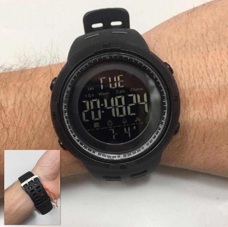 bb826e29195 Relógio Masculino Skmei 1251 Digital Esportivo Prova D´água - R  99 ...