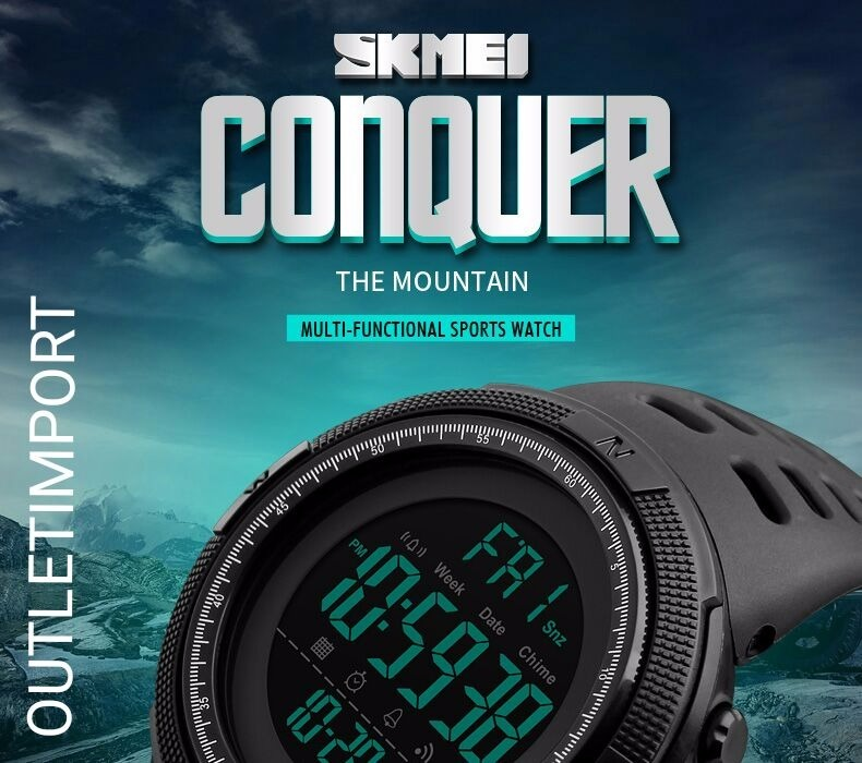 463380e5b1f Relógio Masculino Skmei 1251 Digital Esportivo Prova D´água - R  79 ...