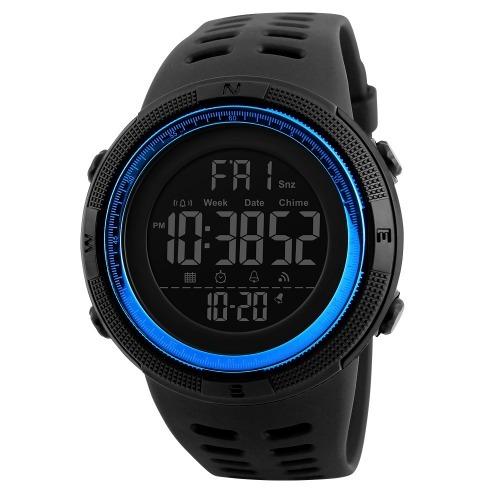 b9f12579a Relógio Masculino Skmei 1251 Digital Esportivo Prova D´água - R  94 ...