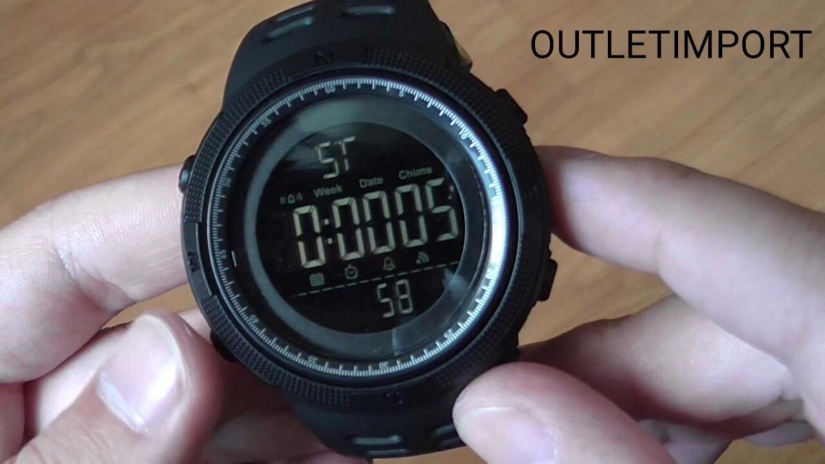 f557174ec relógio masculino skmei 1251 digital esportivo prova d´água. Carregando  zoom.