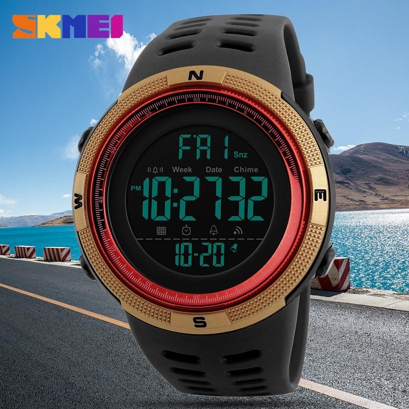05d31fc802a relógio masculino skmei 1251 digital resistente a água. Carregando zoom.