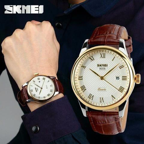 39297fae1 Relógio Masculino Skmei 9058 Original - Super Barato - R  95