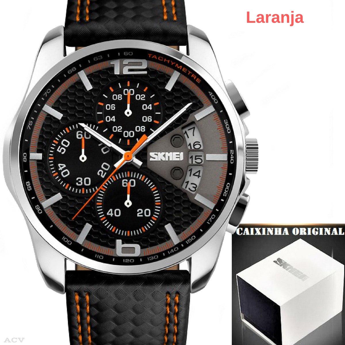 ac87730c599 Relógio - Masculino - Skmei 9106 - Super - Promoção - R  124
