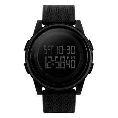 e2bc21417b9 Relógio Masculino Skmei Digital 1206 Preto - R  73