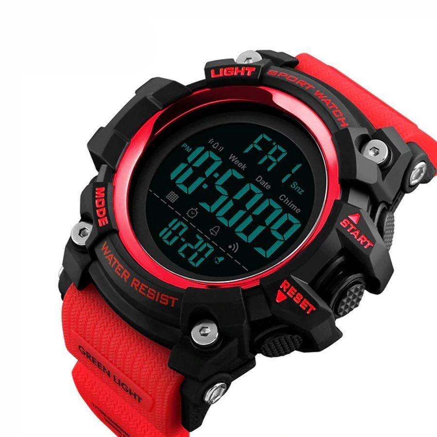 7377690ef7b Relógio Masculino Skmei Digital 1384 Preto E Vermelho - R  75