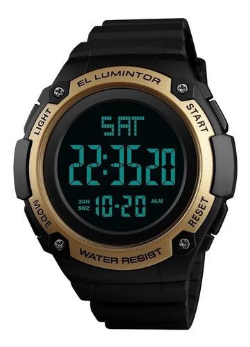 relógio masculino skmei digital esportivo à prova d'água 50m