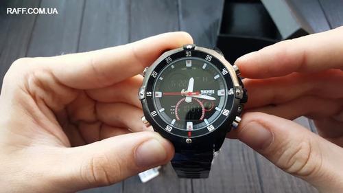 relógio masculino skmei esportivo prata original garantia