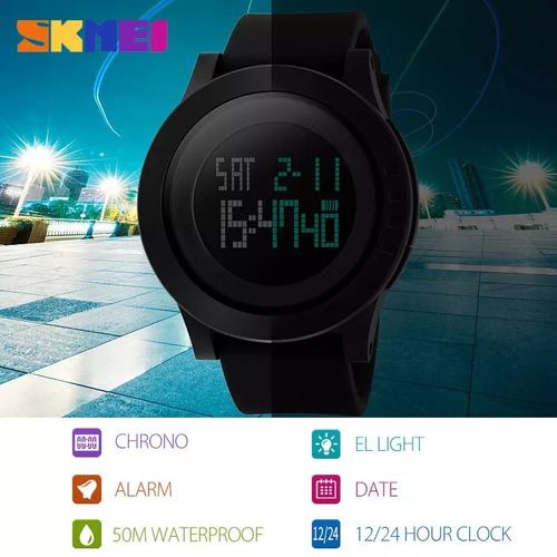 relógio masculino skmei modelo 1142 prova d'água