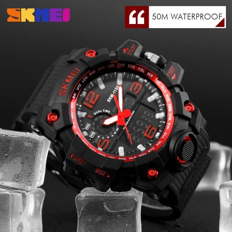 7ac16eec1d0 relógio masculino skmei original 1155 prova d água promoção. Carregando  zoom.
