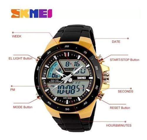 relógio masculino  skmei  original  à prova d'àgua barato