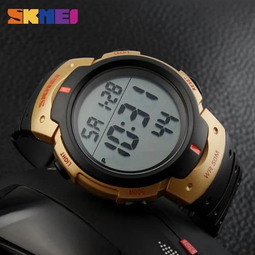 relógio masculino skmei sshock digital.1068 provad'água 50m