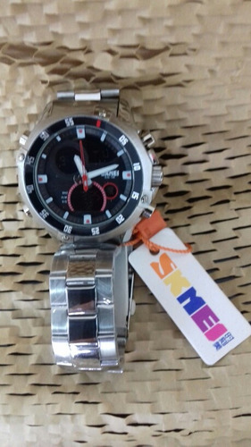 relógio masculino skmey, cod. 00370
