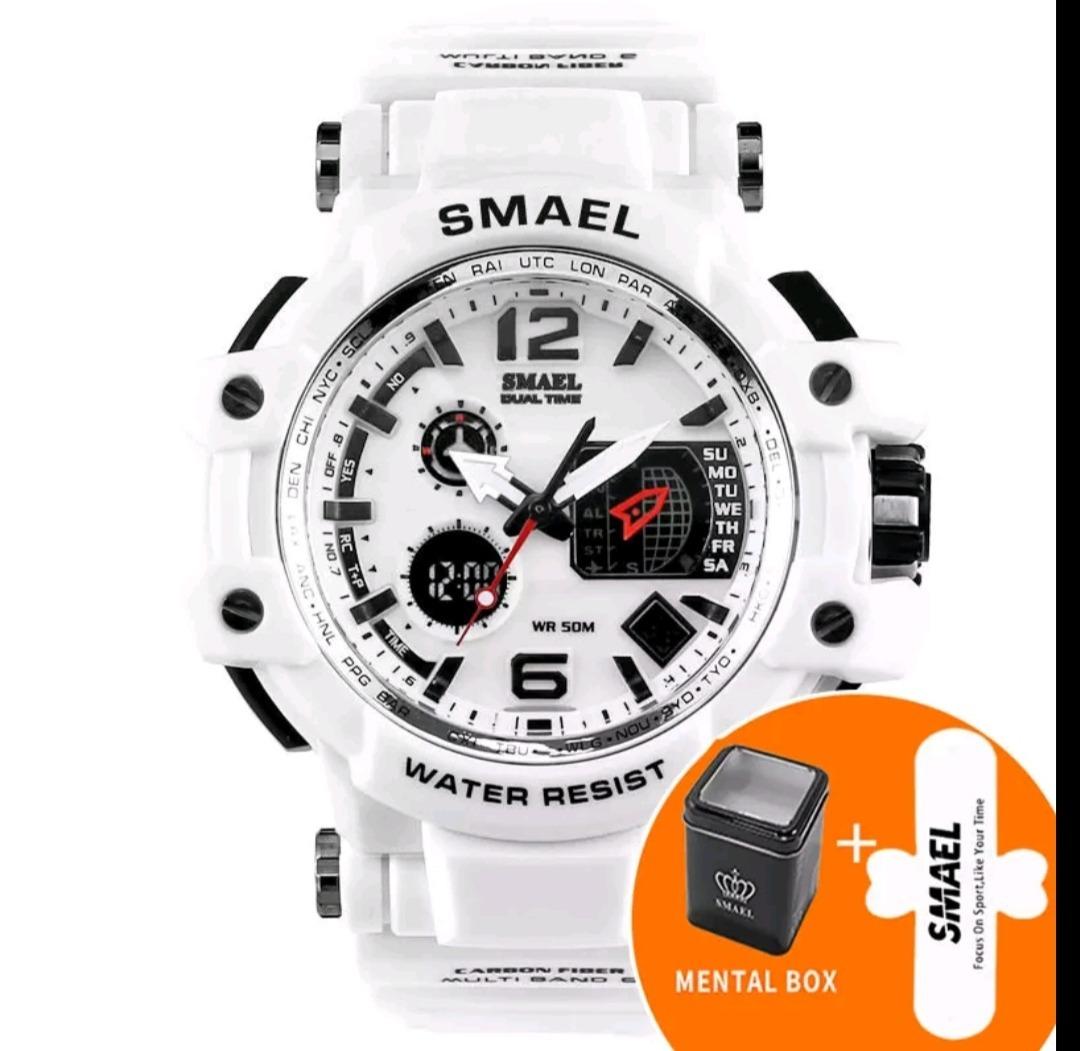 f679446e642 relógio masculino smael original militar g shock prova dágua. Carregando  zoom.