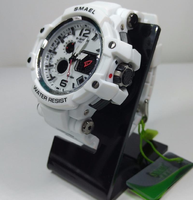 4f81457b6d3 relógio masculino smael s-schock analógico de luxo. Carregando zoom.