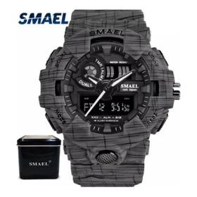 Relógio Masculino Smael Shock Esportivo Militar Digital