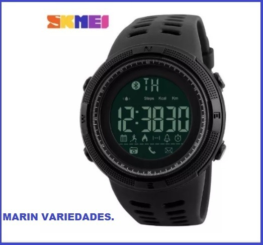 3b2f78022f7 Relógio Masculino Smartwatch Skmei 1250 Bluetooth Esportivo - R  160 ...