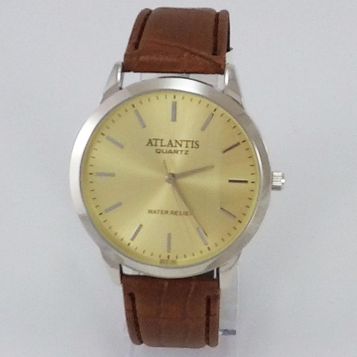7dbe35cafda Características. Marca Atlantis  Modelo G6574  Gênero Masculino  Material  da correia do relógio de pulso ...