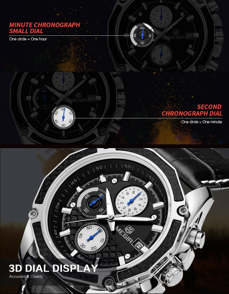 9f4468983b8 Relógio Masculino Social E Esportivo Analogico Luxo - R  199