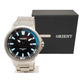 Relógio Masculino Social Orient Mbss1196a Original Nf-e Aço