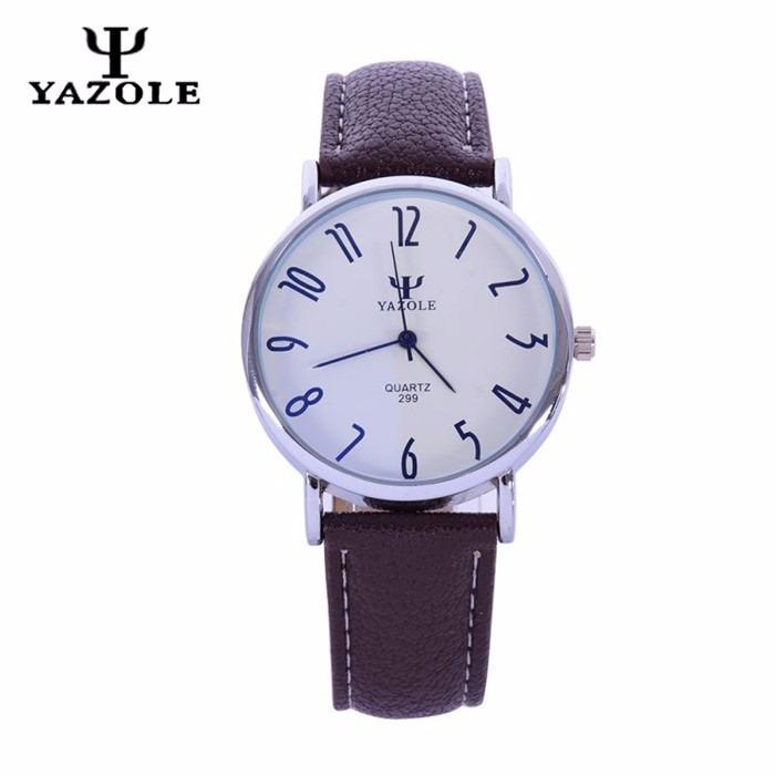61ddadad096 Relógio Masculino Social Yazole Importado Promoção Barato - R  35