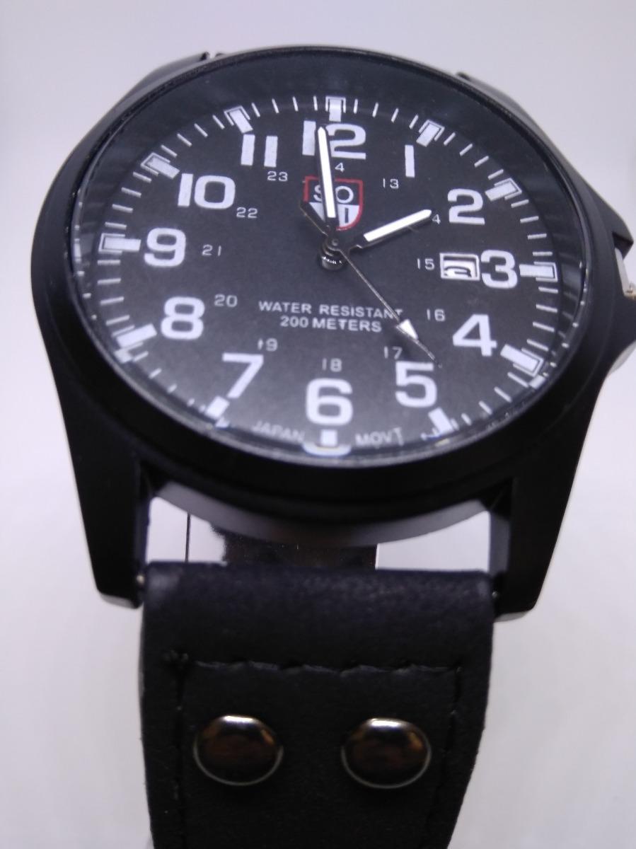 2e63bbef4b3 relógio masculino soki original resistente a água novo! Carregando zoom.
