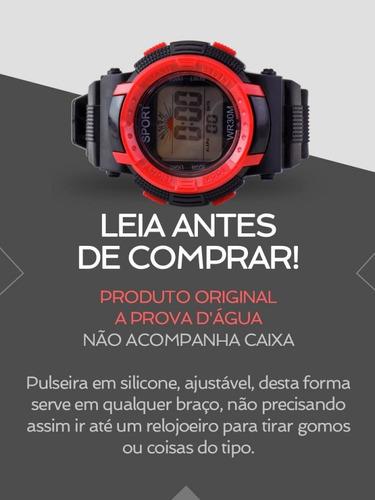 relógio masculino spaceman digital ross38