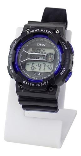 relógio masculino spaceman digital ross86