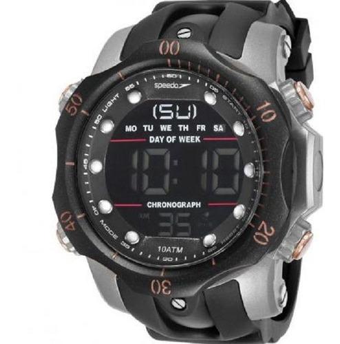 relógio masculino speedo cronômetro alarme 11005g0evnp5