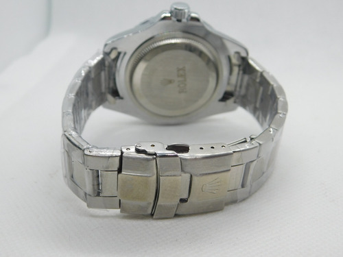 relógio masculino submariner luxo c/calendário unissex aço