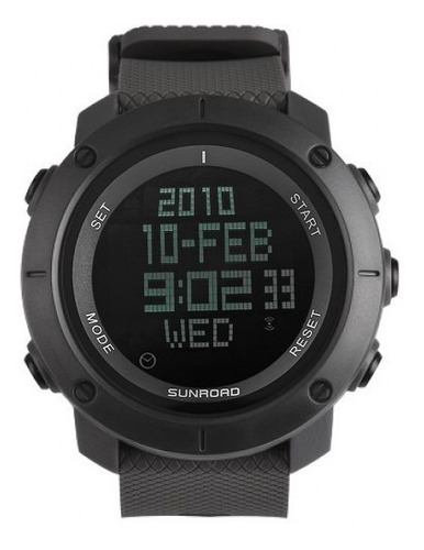 relógio masculino sunroad à prova d'água, cronômetro... ( original e com nf )