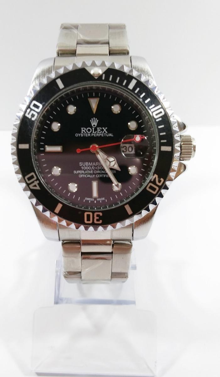 17d8d720219 Relógio Masculino Super Luxo Submariner Prova D água - R  96
