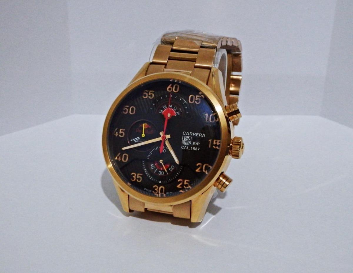 7dad6c5de35 relógio masculino - tag heuer swiss since 1860 - fundo preto. Carregando  zoom.