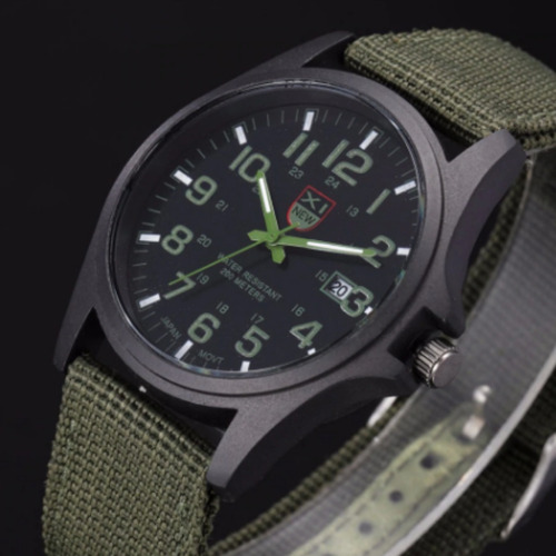 relógio masculino, tático militar