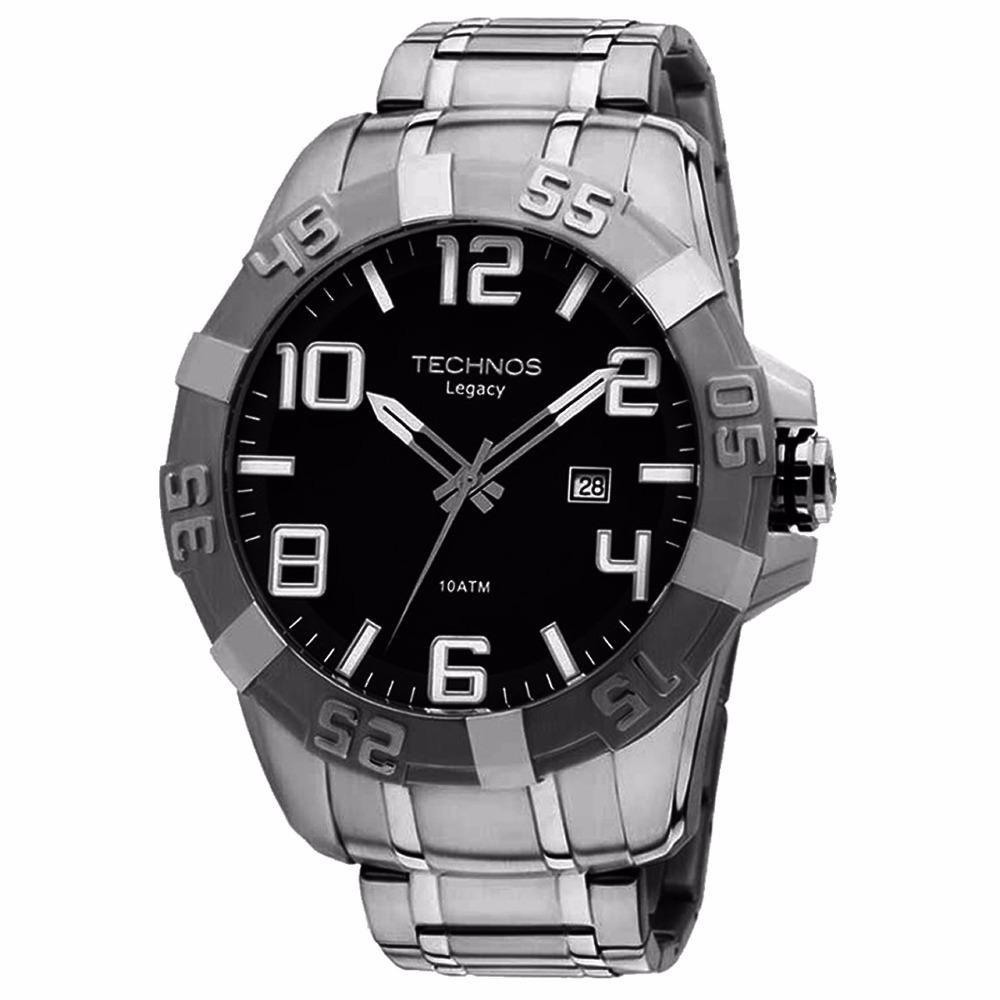 ff3af9ba1b4 relógio masculino technos 2315aaz 1p classic legacy 10 atm. Carregando zoom.