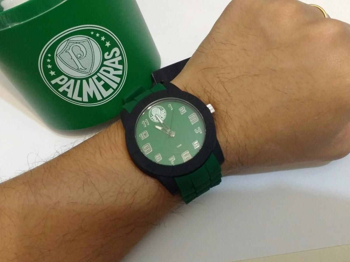 1555f669d47dd Relógio Palmeiras Licenciado Masculino Technos Pal2036aa 8v - R  199 ...