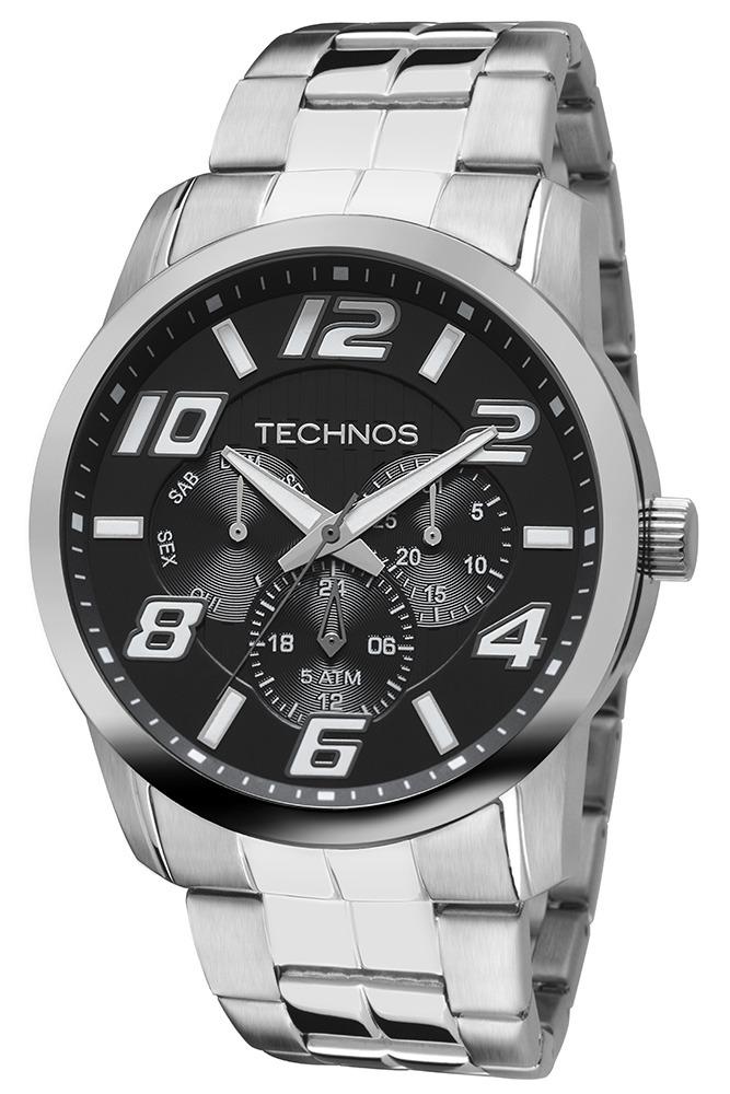 3950010c409 Relógio Masculino Technos Racer Analógico 6p29aft 1p - R  579