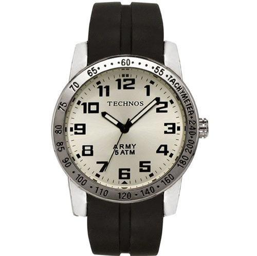 7eb8d3982f5 Relógio Masculino Prata Technos Analógico Esportivo 2035kf - R  279 ...
