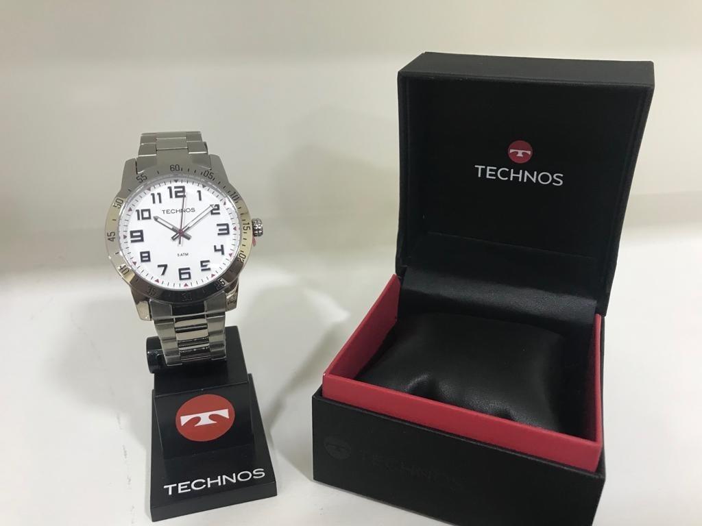 be7d5bdc99877 Relógio Masculino Technos Analógico Casual - R  359,00 em Mercado Livre