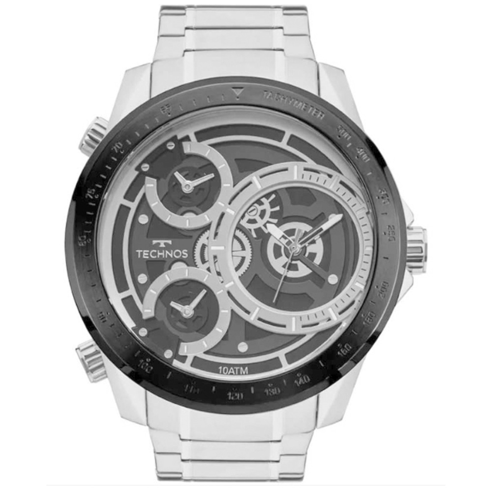 41e63bf0cd2 Relógio Masculino Technos Legacy 2035mlc 1p Prata - R  1.208