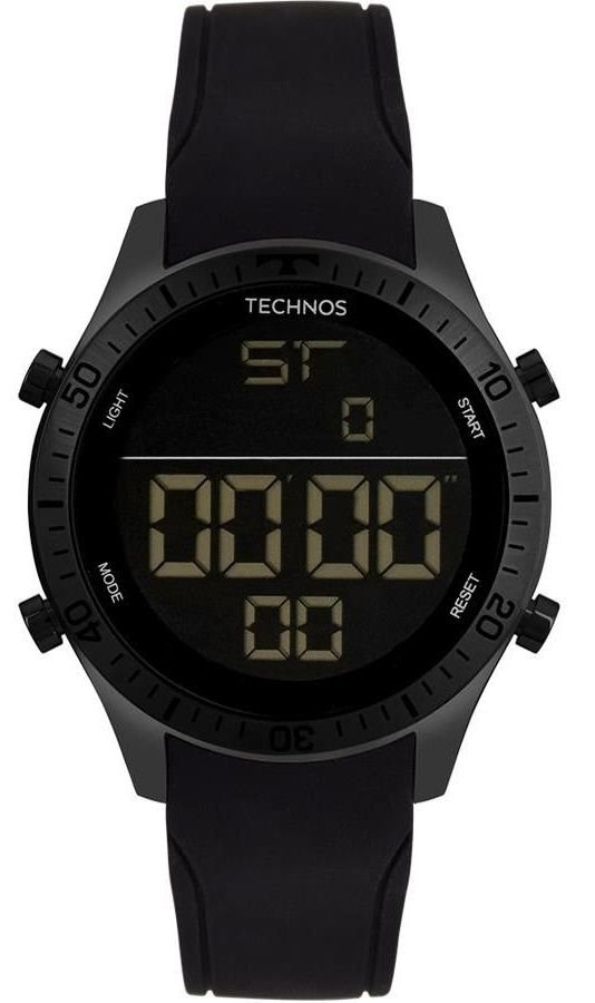 a60b39084aa relógio masculino technos aço racer t02139ae4f preto. Carregando zoom.