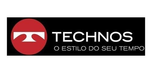 relógio masculino technos analógico casual os10er/1a